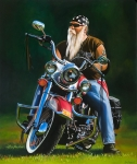 Harley Motorcycle Art Print|Glory Days