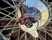 Jaguar Car Art Print|SS Wheel