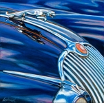 Jaguar Car Art Print|Jaguar Blues